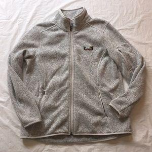 LL Bean Zip Up Jacket